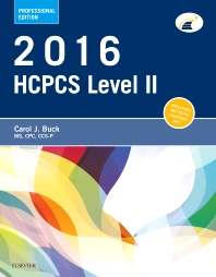 2016 HCPCS Level II Professional Edition - 1st Edition - ISBN: 9780323389839, 9780323389846