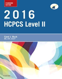 2016 HCPCS Level II Standard Edition - 1st Edition - ISBN: 9780323389891, 9780323389907