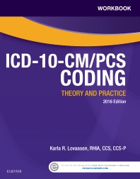 Cover image for Workbook for ICD-10-CM/PCS Coding: Theory and Practice, 2016 Edition