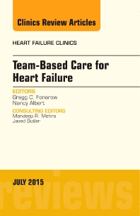 Cover image for Team-Based Care for Heart Failure, An Issue of Heart Failure Clinics