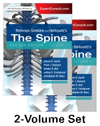 Cover image for Rothman-Simeone and Herkowitz's The Spine, 2 Vol Set
