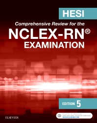 HESI Comprehensive Review for the NCLEX-RN Examination, 5th Edition,ISBN9780323394628