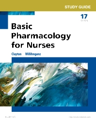 Study Guide for Basic Pharmacology for Nurses - 17th Edition - ISBN: 9780323396110