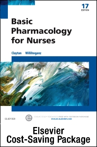 Cover image for Basic Pharmacology for Nurses - Text & Study Guide Package