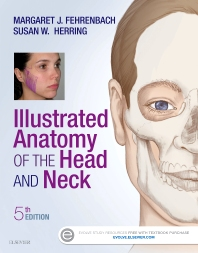 Cover image for Illustrated Anatomy of the Head and Neck