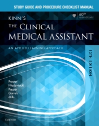 Cover image for Study Guide and Procedure Checklist Manual for Kinn's The Clinical Medical Assistant