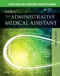 Study Guide for Kinn's The Administrative Medical Assistant - 13th Edition - ISBN: 9780323396752, 9780323444514