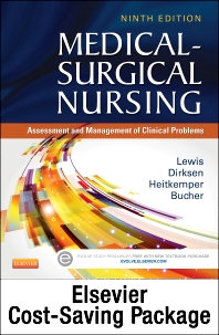 Cover image for Medical-Surgical Nursing (Two-Volume set) - Text and Elsevier Adaptive Quizzing (Access Card) Updated Edition Package