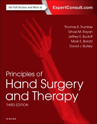 Cover image for Principles of Hand Surgery and Therapy