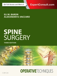 Cover image for Operative Techniques: Spine Surgery