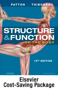 Cover image for Structure and Function of the Human Body - Text and Elsevier Adaptive Learning (Access Card) and Elseiver Adaptive Quizzing (Access Card) Package