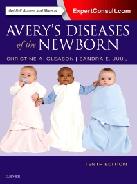 cover of Avery's Diseases of the Newborn - 10th Edition