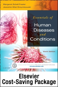 Cover image for Essentials of Human Diseases and Conditions - Text and Elsevier Adaptive Learning Package