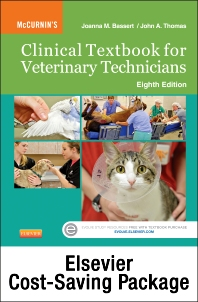 Cover image for McCurnin's Clinical Textbook for Veterinary Technicians - Text and Elsevier Adaptive Learning Package