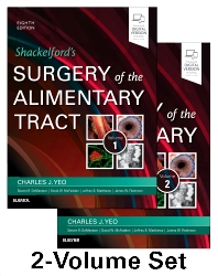 Cover image for Shackelford's Surgery of the Alimentary Tract, 2 Volume Set
