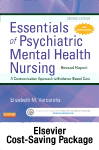 Cover image for Essentials of Psychiatric Mental Health Nursing - Revised Reprint - Text and Virtual Clinical Excursions Online Package