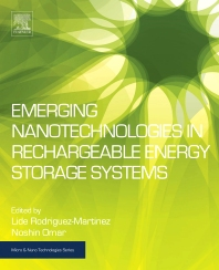 Cover image for Emerging Nanotechnologies in Rechargeable Energy Storage Systems