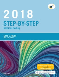 Cover image for Step-by-Step Medical Coding, 2018 Edition