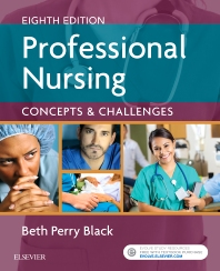 Cover image for Professional Nursing