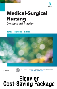 Cover image for Medical-Surgical Nursing - Text and Study Guide Package