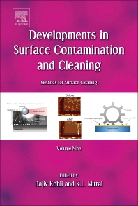 Cover image for Developments in Surface Contamination and Cleaning: Methods for Surface Cleaning