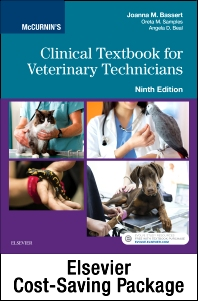 Cover image for McCurnin's Clinical Textbook for Veterinary Technicians - Textbook and Workbook Package