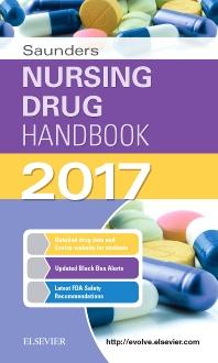 Cover image for Saunders Nursing Drug Handbook 2017
