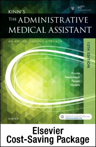 Kinn's The Administrative Medical Assistant - Text, Study Guide, and SimChart for the Medical Office Package - 13th Edition - ISBN: 9780323445993
