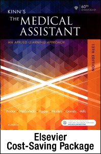 Kinn's The Medical Assistant - Text, Study Guide and Checklist, and SimChart for the Medical Office Package - 13th Edition - ISBN: 9780323446464