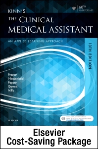 Kinn's The Clinical Medical Assistant - Text and Study Guide & Procedure Checklist Manual Package - 13th Edition - ISBN: 9780323446471