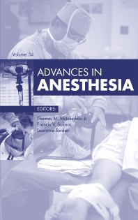 Cover image for Advances in Anesthesia, 2016