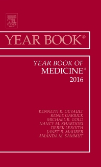Cover image for Year Book of Medicine, 2016