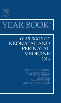 Cover image for Year Book of Neonatal and Perinatal Medicine 2016