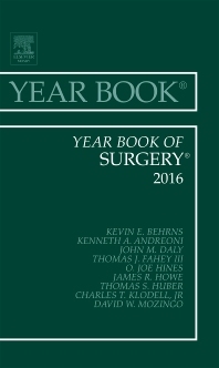 Cover image for Year Book of Surgery 2016