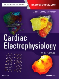 Book cover image for Cardiac Electrophysiology: From Cell to Bedside (Seventh Edition)
