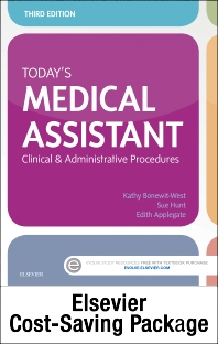 Cover image for Today's Medical Assistant - Text and Elsevier Adaptive Learning Package