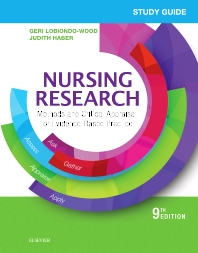 Study Guide for Nursing Research - 9th Edition - ISBN: 9780323447614, 9780323447584