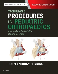 Cover image for Tachdjian's Procedures in Pediatric Orthopaedics