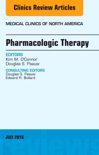 Cover image for Pharmacologic Therapy, An Issue of Medical Clinics of North America