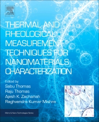 Cover image for Thermal and Rheological Measurement Techniques for Nanomaterials Characterization