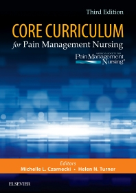 Cover image for Core Curriculum for Pain Management Nursing