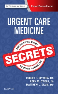 Cover image for Urgent Care Medicine Secrets