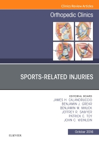 Cover image for Sports-Related Injuries, An Issue of Orthopedic Clinics