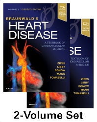 Cover image for Braunwald's Heart Disease: A Textbook of Cardiovascular Medicine, 2-Volume Set