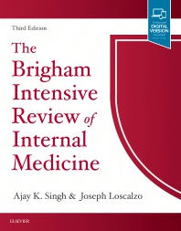 Cover image for The Brigham Intensive Review of Internal Medicine