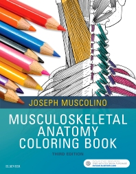 Cover image for Musculoskeletal Anatomy Coloring Book