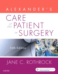 Alexander's Care of the Patient in Surgery - 16th Edition - ISBN: 9780323479141, 9780323533287