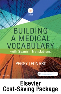 Cover image for Medical Terminology Online with Elsevier Adaptive Learning for Building a Medical Vocabulary (Access Card and Textbook Package)