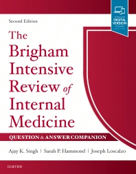 Cover image for The Brigham Intensive Review of Internal Medicine Question & Answer Companion