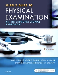Seidel's Guide to Physical Examination - 9th Edition - ISBN: 9780323481953